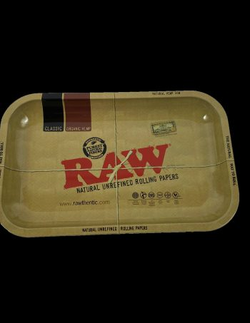 raw paper rolling tray