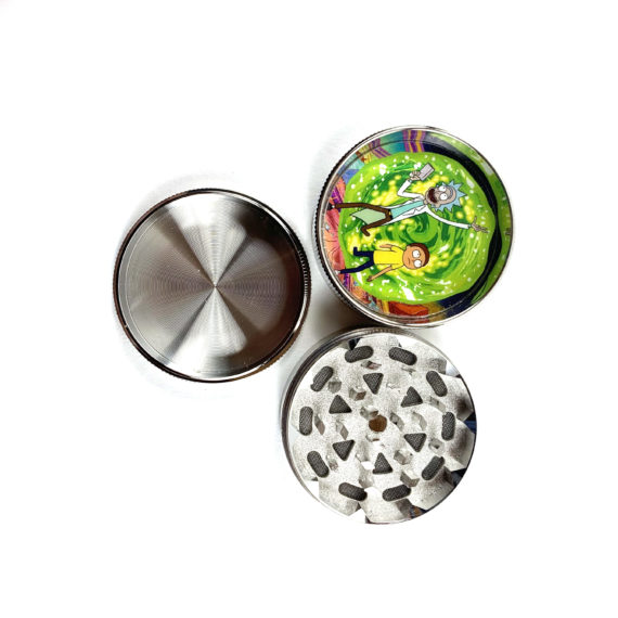 Rick and Morty 3 Piece Grinder (Portal)