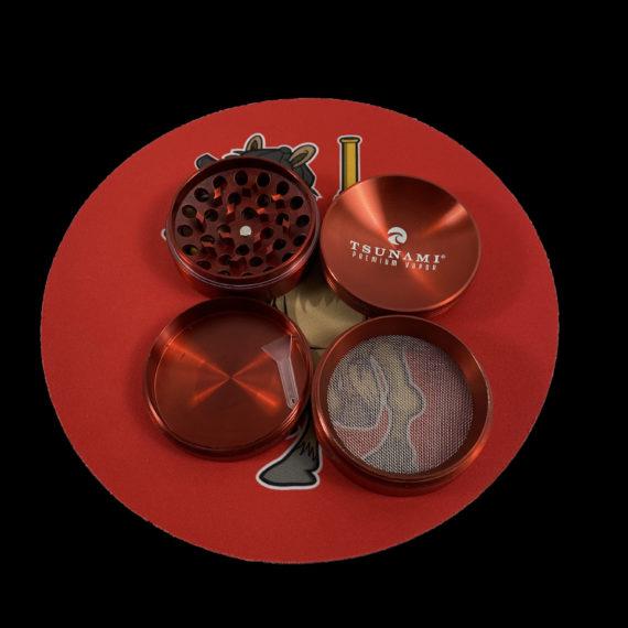 red grinder