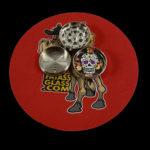 skull tobacco grinder