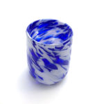 handblown glass tumbler cup