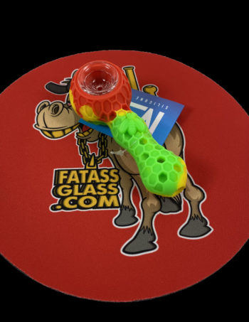 glass and silicone pipe
