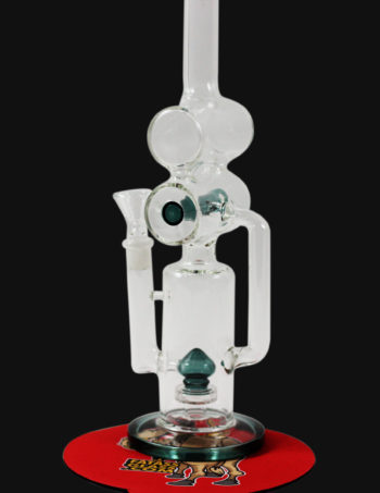 double barrel recycler bong