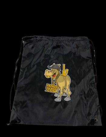 fat ass glass company drawstring bag
